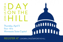 Join us for a Day on the Hill - April 5 - 9am-4pm