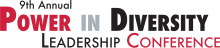 9th Annual Power in Diversity Leadership Conference logo