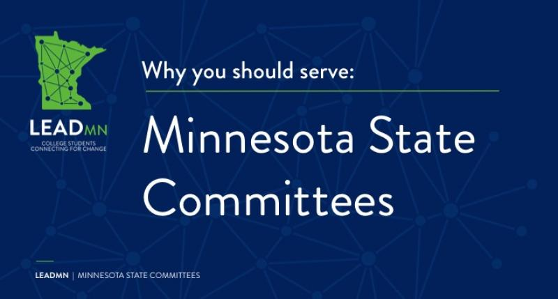 Why you should serve on a Minnesota State committee